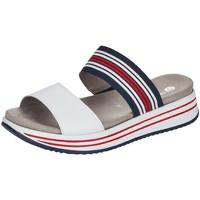 Schuhe Damen Pantoffel Remonte Dorndorf Pantoletten Pantolette R2960-80 weiß