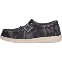 Schuhe Jungen Slipper Hey Dude - Sneaker blu WALLY YOUTH 2557 BLU