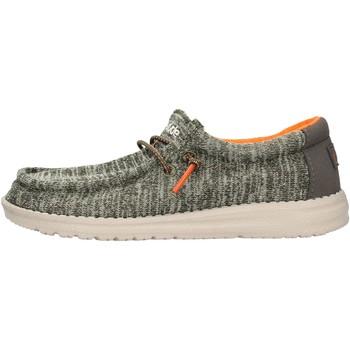 Schuhe Jungen Derby-Schuhe Hey Dude - Sneaker verde WALLY YOUTH 8337 VERDE