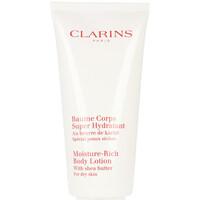Beauty Damen pflegende Körperlotion Clarins Baume Corps Super Hydratant  200 ml