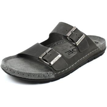 Schuhe Herren Pantoffel Rohde  grau