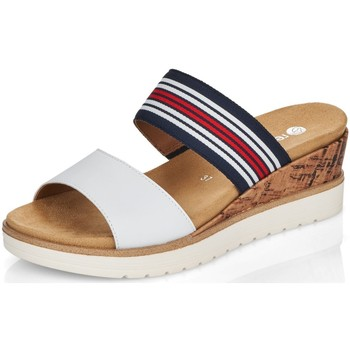 Schuhe Damen Pantoffel Remonte Dorndorf Pantoletten R6154-80 weiß