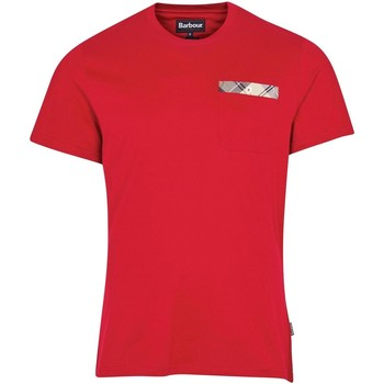 Kleidung Herren T-Shirts Barbour - T-shirt rosso MTS0682-RE22 ROSSO