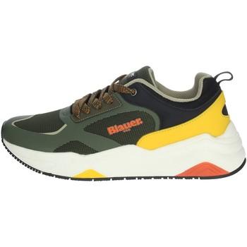 Schuhe Herren Sneaker Low Blauer TOK01 Dunkel Grün