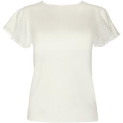 Kleidung Damen Tops / Blusen Lisca Limitless  Wange Kurzarm-T-Shirt Gelb