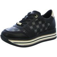 Schuhe Damen Sneaker Low Bugatti 431880105054-1051 schwarz
