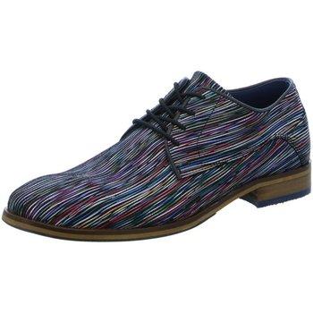 Schuhe Herren Derby-Schuhe Bullboxer Schnuerschuhe P577 K20114BP577 bunt