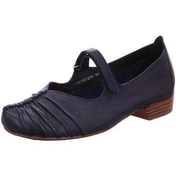 Schuhe Damen Ballerinas Everybody Slipper BLU 30508H2296-199 blau