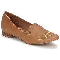 Schuhe Damen Slipper Betty London CHEFACHE Camel