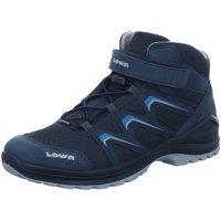 Schuhe Jungen Wanderschuhe Lowa Bergschuhe MADDOX GTX MID JUNIOR 350123/6129 blau