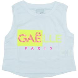 Kleidung Mädchen Tops GaËlle Paris - T-shirt bianco 2746M0333 BIANCO