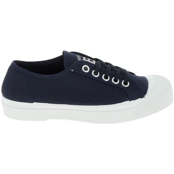 Schuhe Damen Sneaker Low Bensimon Toile Romy Marine Blau