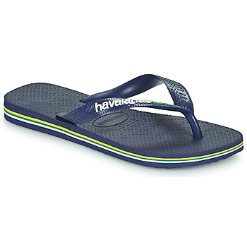 Schuhe Kinder Zehensandalen Havaianas BRASIL LOGO Marine