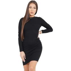 Kleidung Damen Kurze Kleider Sixth June Robe femme  Classique noir
