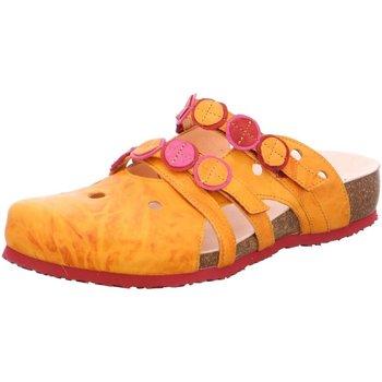 Schuhe Damen Pantoletten / Clogs Think 3-000121-6000 gelb
