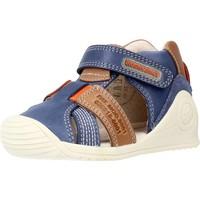 Schuhe Jungen Sandalen / Sandaletten Biomecanics 212135 Blau