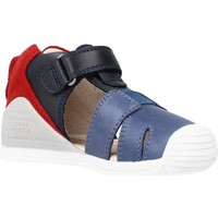 Schuhe Jungen Sandalen / Sandaletten Biomecanics 212136 Blau
