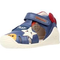 Schuhe Jungen Sandalen / Sandaletten Biomecanics 212140 Blau