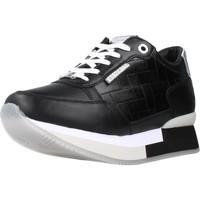 Schuhe Damen Sneaker Low Apepazza S1RSD10LEA Schwarz