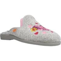 Schuhe Mädchen Hausschuhe Vulladi 4104 052 Grau
