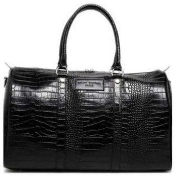 Taschen Herren Reisetasche Maison Heritage NINO CROCO NOIR
