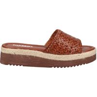 Schuhe Damen Pantoletten / Clogs Shabbies Amsterdam Pantoletten Cognac