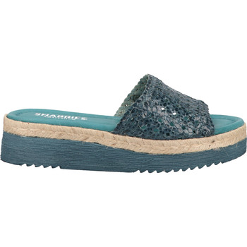 Schuhe Damen Pantoletten / Clogs Shabbies Amsterdam Pantoletten Jeans