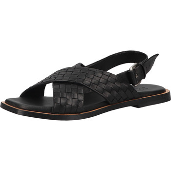 Schuhe Damen Sandalen / Sandaletten Shabbies Amsterdam Sandalen Schwarz