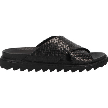 Schuhe Damen Pantoletten / Clogs Shabbies Amsterdam Pantoletten Schwarz