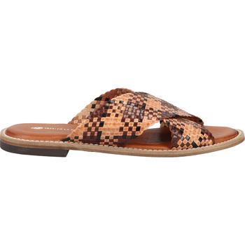 Schuhe Damen Pantoletten / Clogs Fred de la Bretoniere Pantoletten Braun