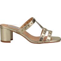 Schuhe Damen Pantoletten / Clogs Steven New York Pantoletten Gold