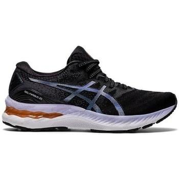Schuhe Damen Sneaker Low Asics Gel Nimbus 23 Schwarz