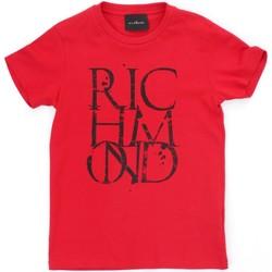Kleidung Jungen T-Shirts Richmond Kids RBP21038TS rot