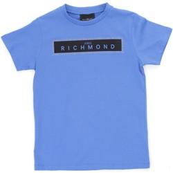 Kleidung Jungen T-Shirts Richmond Kids RBP21030TS Hellblau