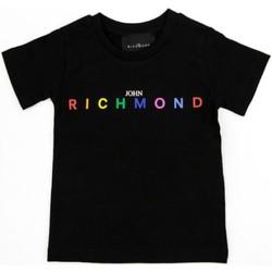 Kleidung Mädchen T-Shirts Richmond Kids RGP21123TS Schwarz