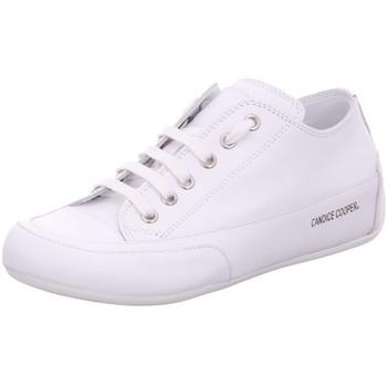 Schuhe Damen Sneaker Low Candice Cooper Schnuerschuhe Rock Vitello D5018 bianco weiß