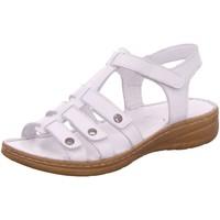 Schuhe Damen Sandalen / Sandaletten Gemini Sandaletten aus Leder 354246-02/001 weiß