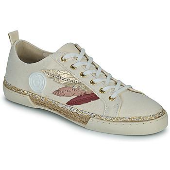 Schuhe Damen Sneaker High Pataugas AUTHENTIQUE/T J2E Beige / Gold / Rose
