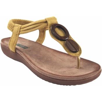 Schuhe Damen Zehensandalen Amarpies Lady   17063 abz Senf Gelb