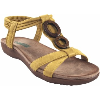 Schuhe Damen Sandalen / Sandaletten Amarpies Lady   17064 abz Senf Gelb