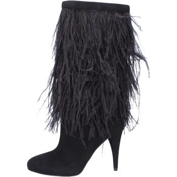 Schuhe Damen Klassische Stiefel MICHAEL Michael Kors BJ760 Schwarz