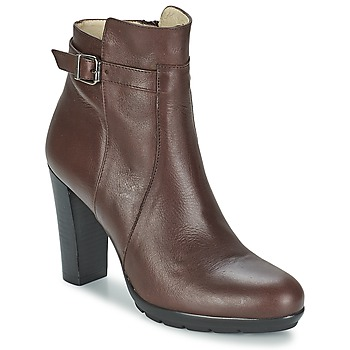 Schuhe Damen Low Boots Betty London ARIZONA Braun