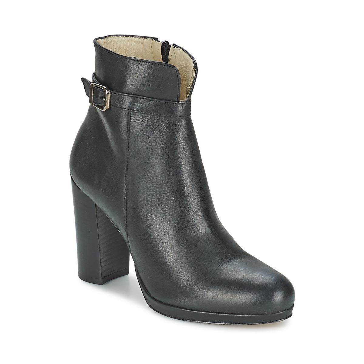 Betty London GRAZI Schwarz - Kostenloser Versand bei Spartoode ! - Schuhe Low Boots Damen 62,50 €