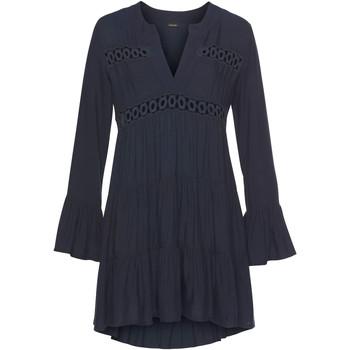 Kleidung Damen Tuniken Lascana Sommer-Tunika-Bluse Lola Blau Marine