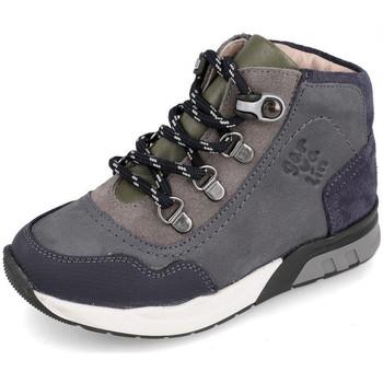 Schuhe Kinder Sneaker High Garvalin 191421 Grau