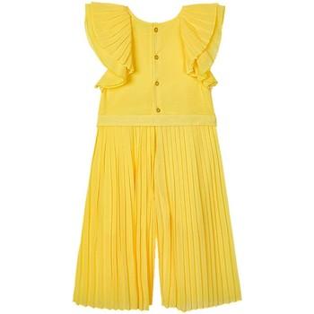 Kleidung Mädchen Kleider Mayoral  amarillo