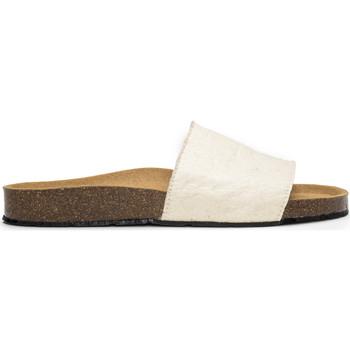Schuhe Pantoletten Nae Vegan Shoes Bay_White Weiss