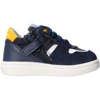 Schuhe Jungen Sneaker Low Balducci - Polacchino blu/giallo MSPO3602 BLU