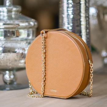 Taschen Damen Umhängetaschen Céleste OLIVIA Camel