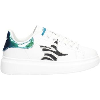 Schuhe Damen Sneaker Low Shop Art SA050107 Sneaker Frau WEISS WEISS